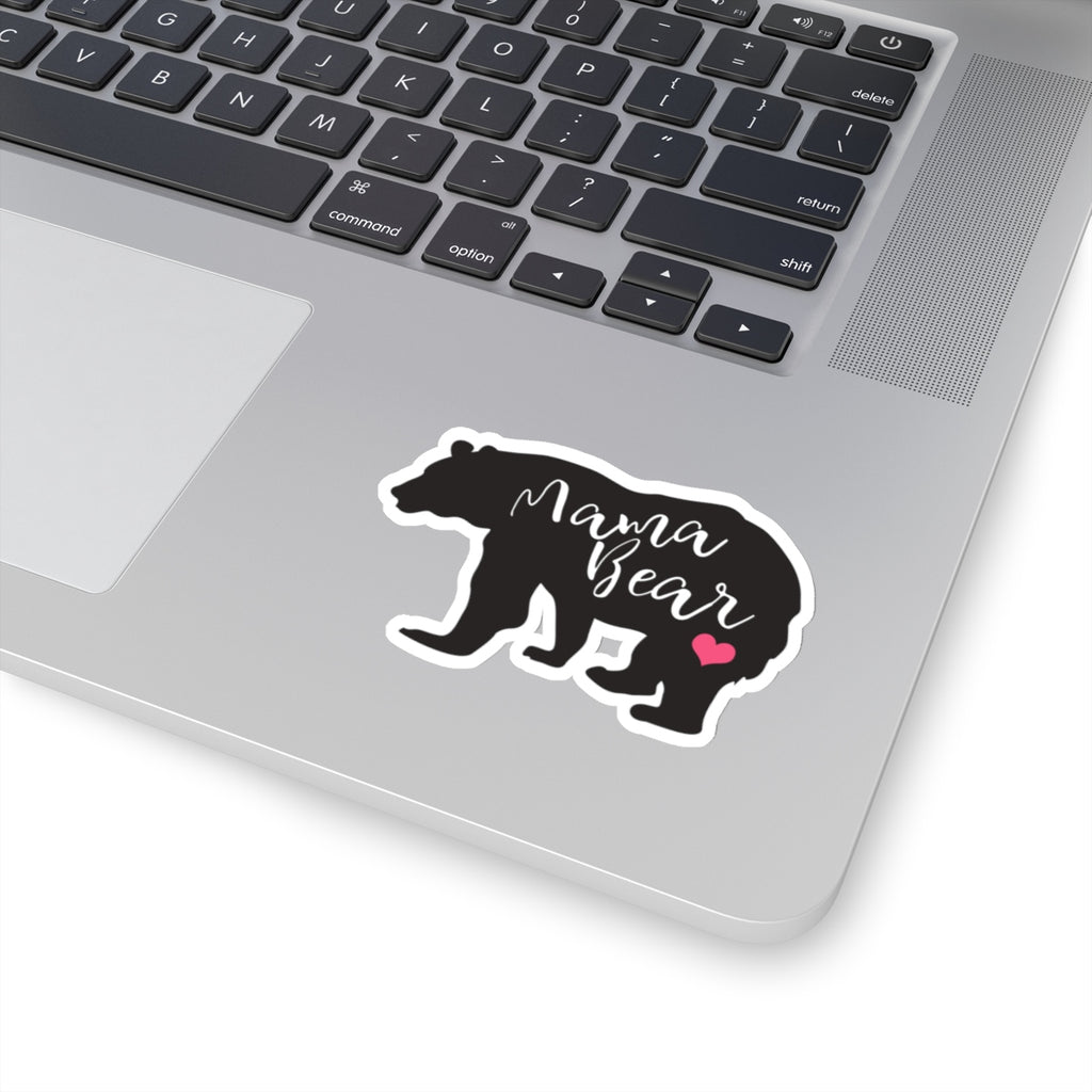 Mama Bear Heart Sticker (3X3)