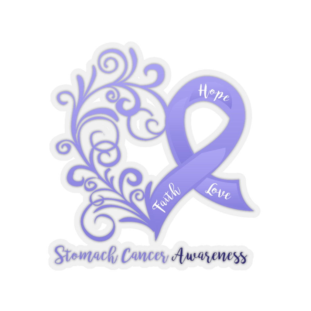Stomach Cancer Awareness Sticker
