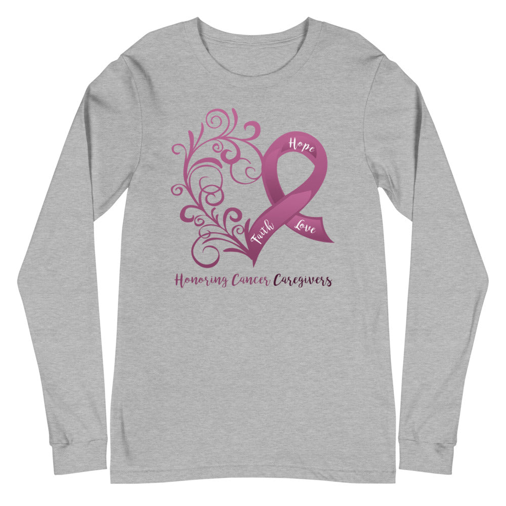Honoring Cancer Caregivers Long Sleeve Tee