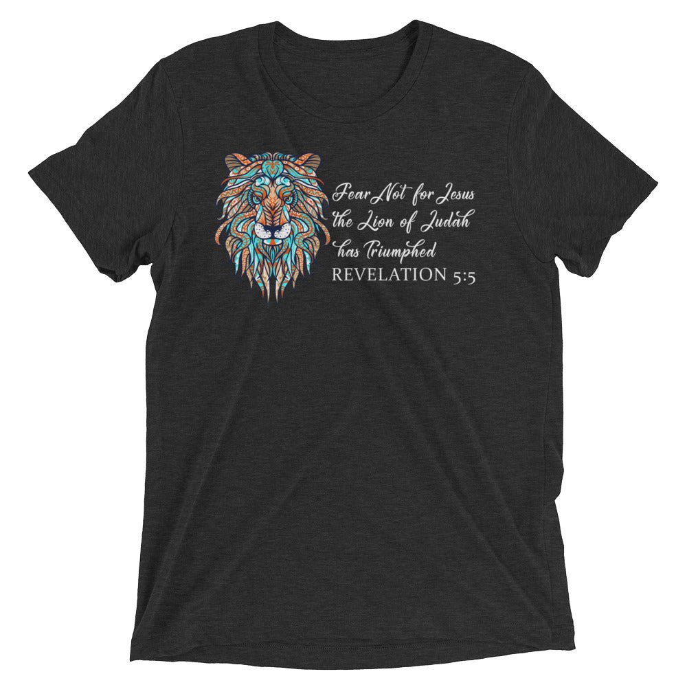 The Lion of Judah has Triumphed Tri-Blend T-Shirt