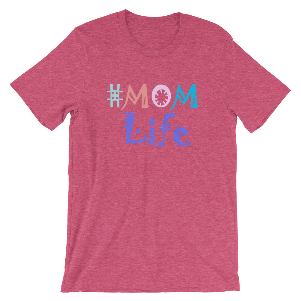 # Mom Life T-Shirt - Dark Colors