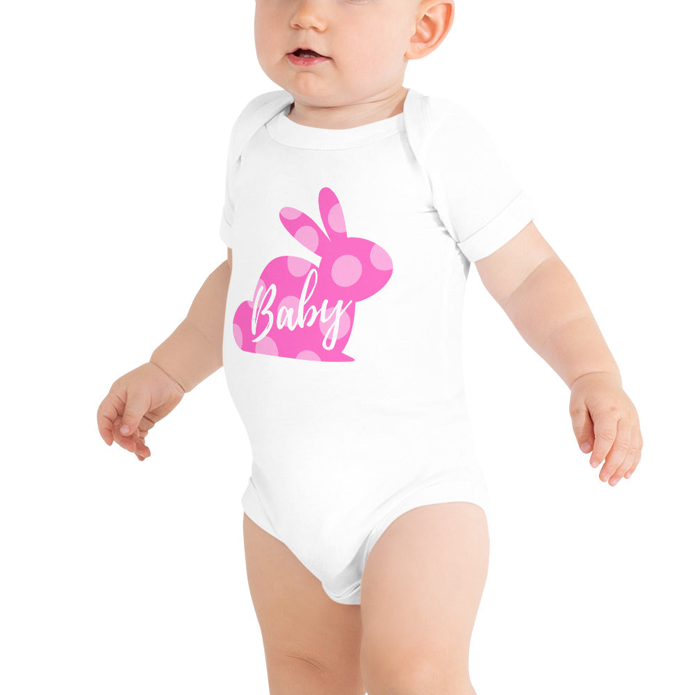 Baby Bunny Pink One-Piece