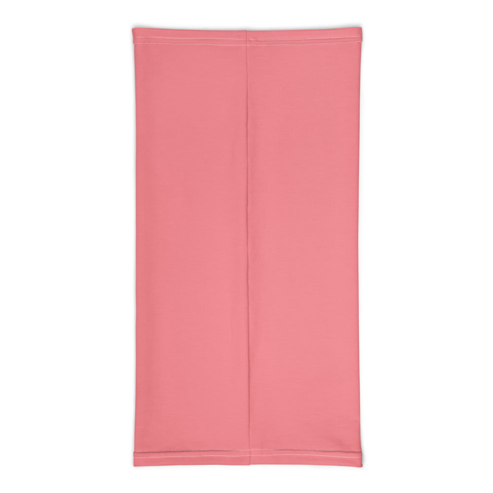 Faith Over Fear Arrow Neck Gaiter / Face Covering (Coral) - (Quick Ship) - NON-RETURNABLE