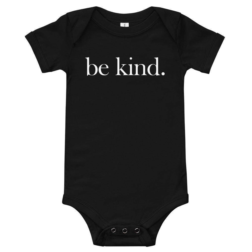 be kind. Baby Short Sleeve One Piece
