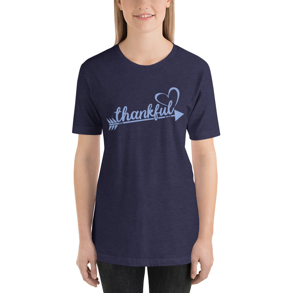 Thankful-Heart-Arrow Cotton T-Shirt