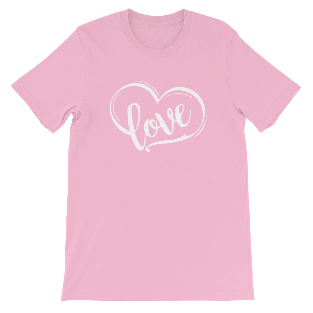 Love Heart T-Shirt - Light Colors