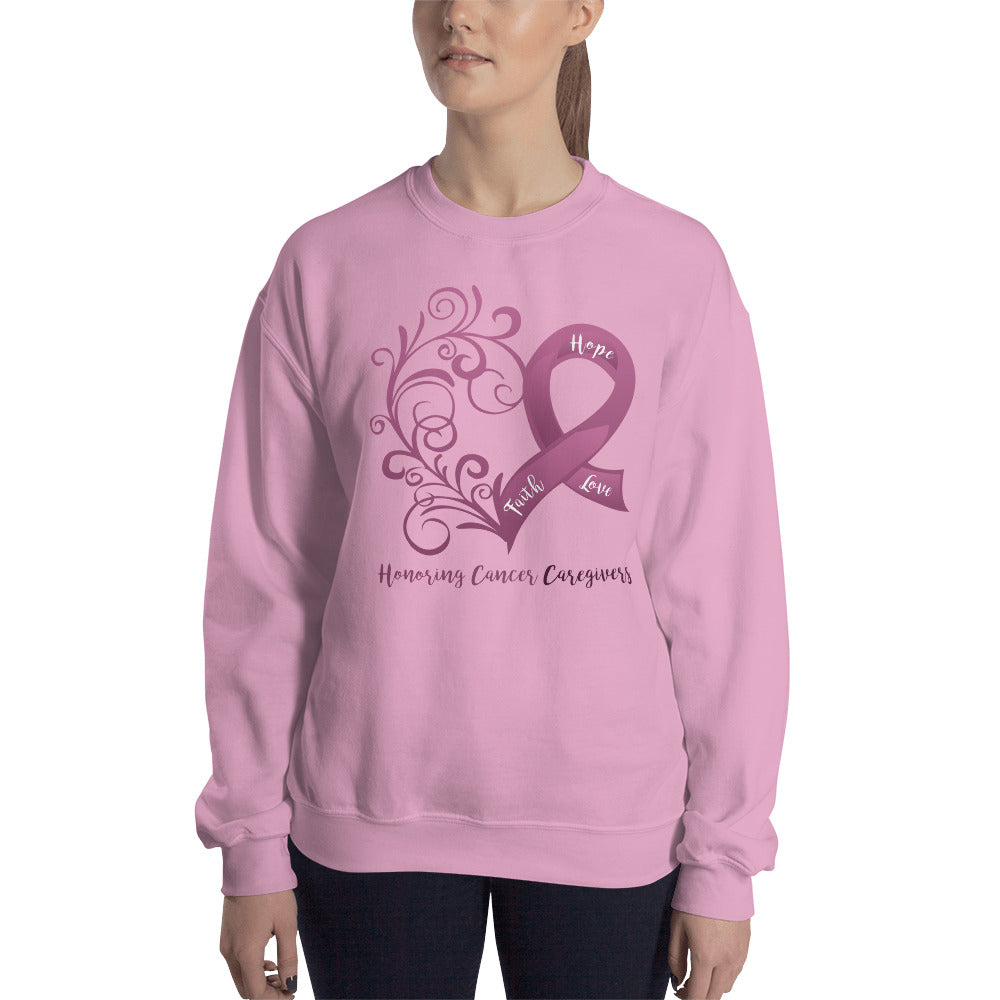 Honoring Cancer Caregivers Sweatshirt