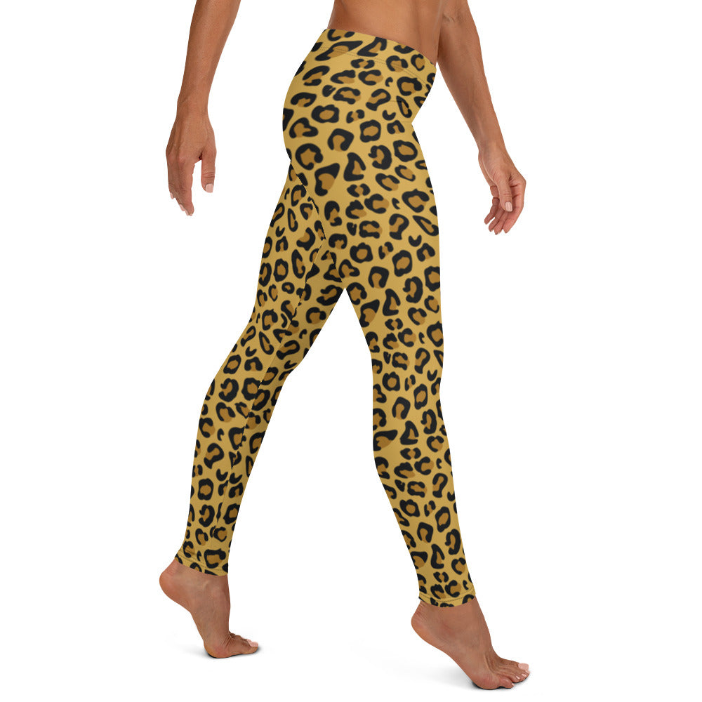 Leopard Skin Full Length Leggings
