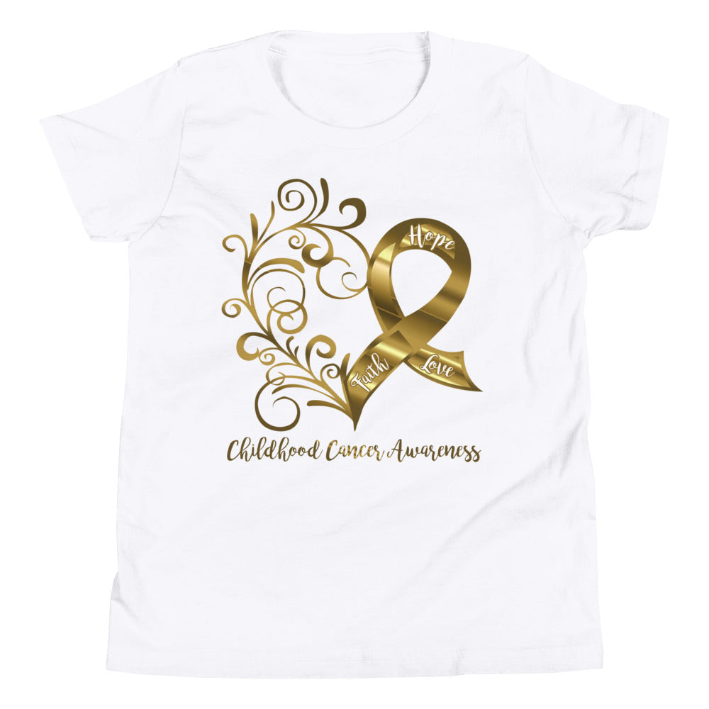Childhood Cancer Awareness Youth T-Shirt