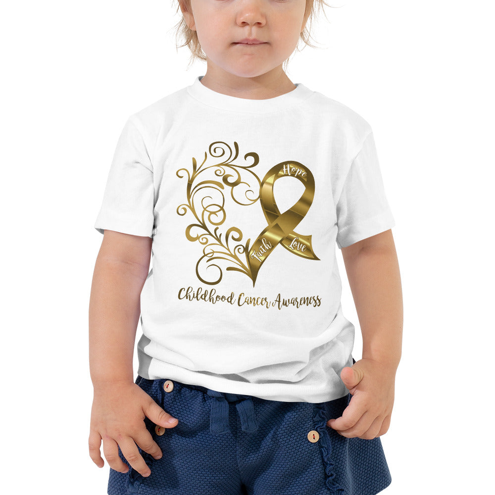Childhood Cancer Awareness Toddler Tee