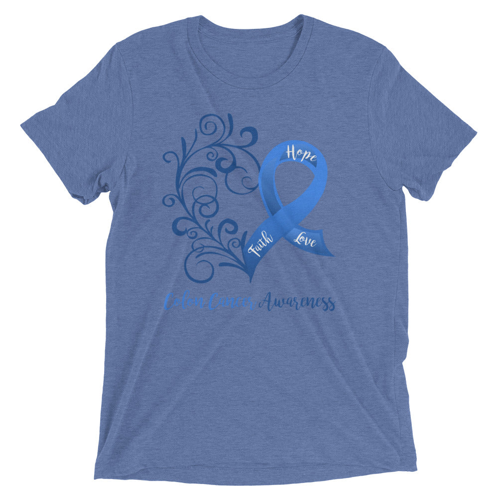 Colon Cancer Awareness Tri-Blend T-Shirt
