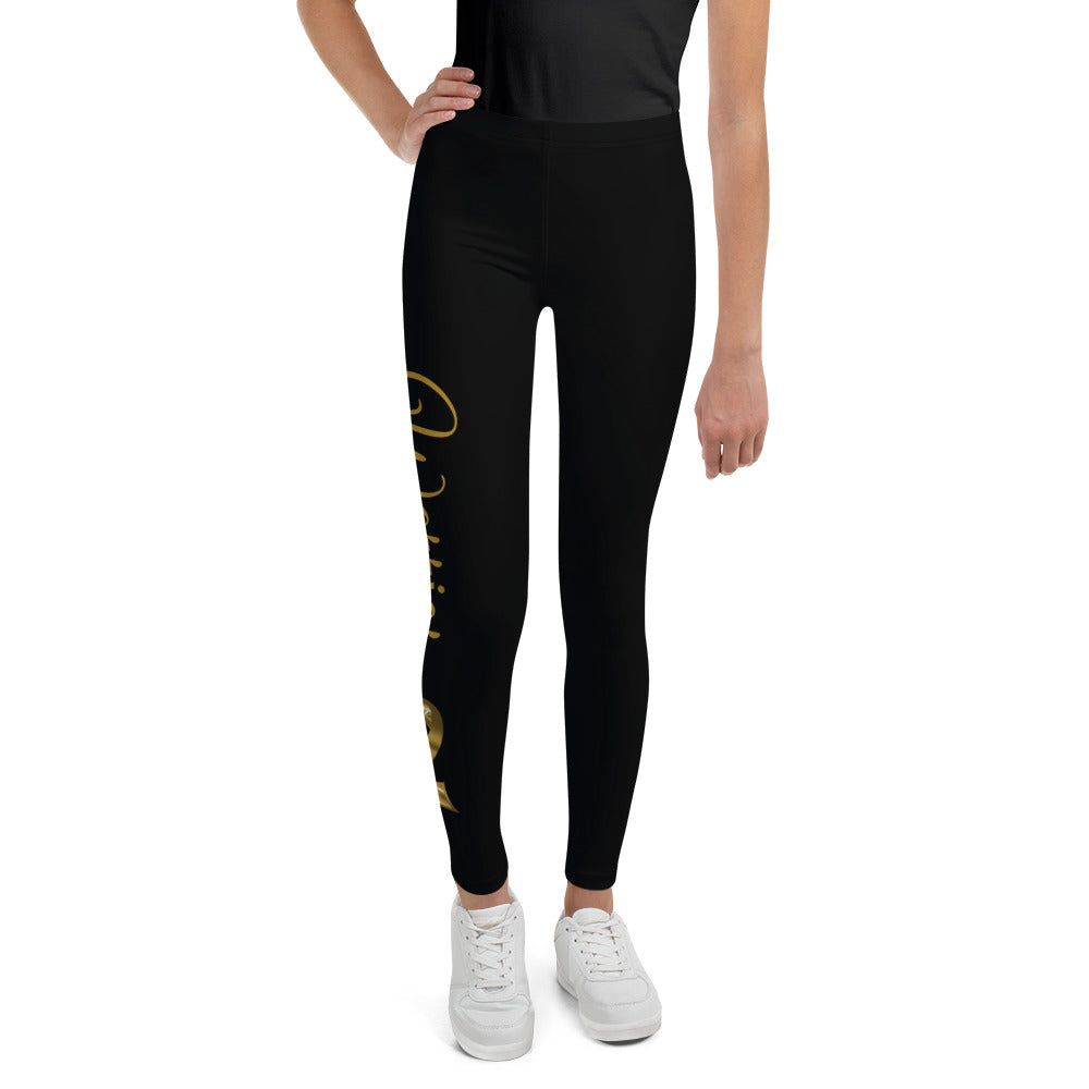 "Childhood Cancer ""Warrior"" Youth Leggings"