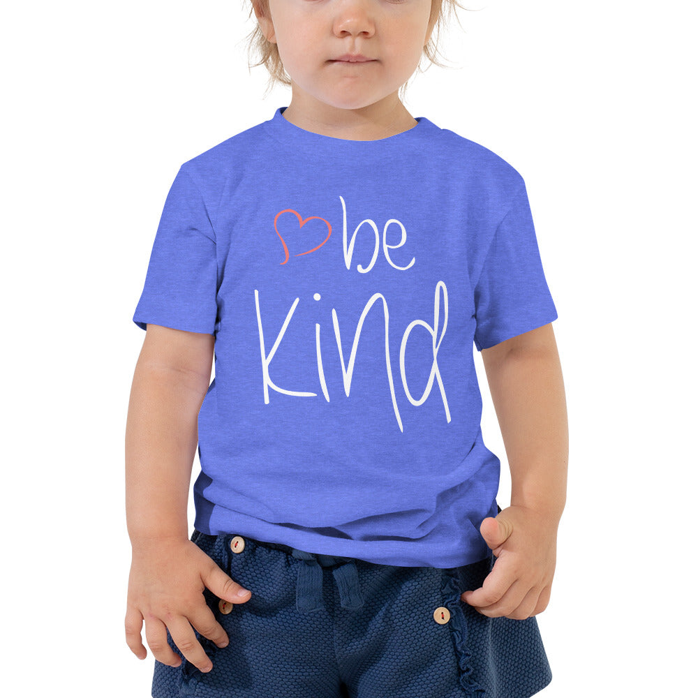 be kind Heart Toddler Tee