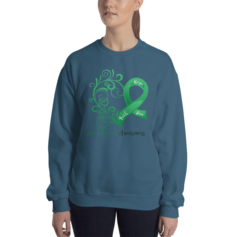 Liver Cancer Awareness Sweatshirt