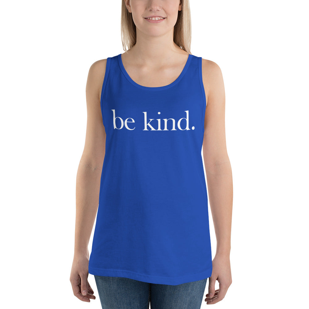 be kind. Cotton Tank Top