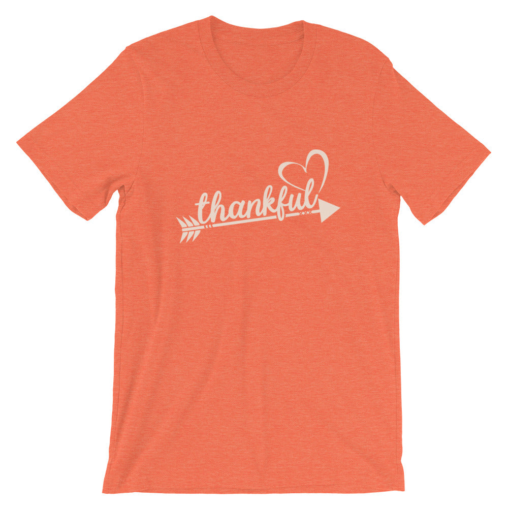 Thankful Heart T-Shirt - Autumn Colors