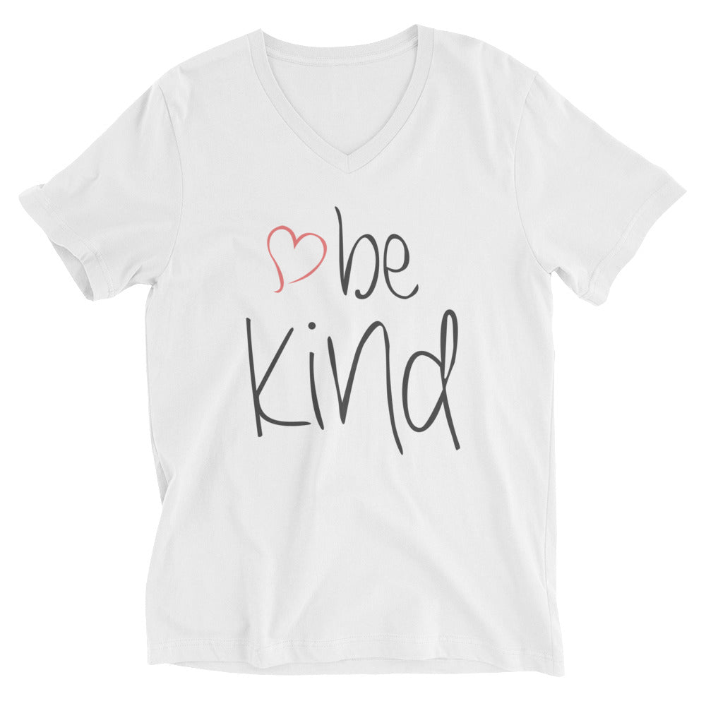 be kind Heart V-Neck T-Shirt