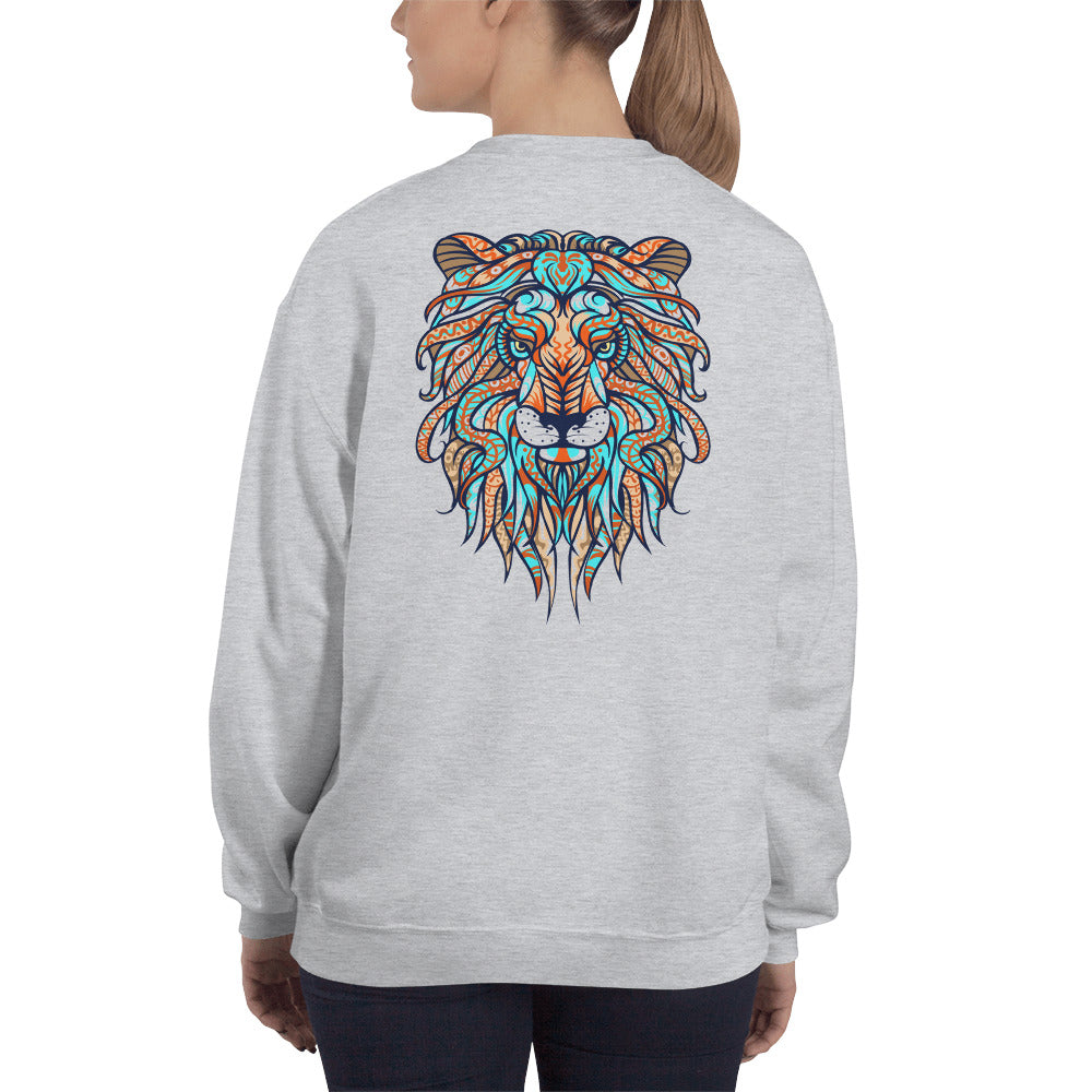 The Lion of Judah has Triumphed 2-Sided Sweatshirt