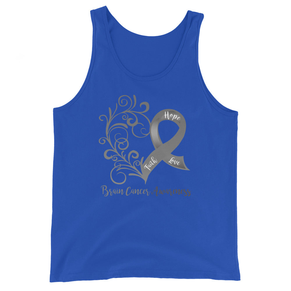 Brain Cancer Awareness Cotton Tank Top