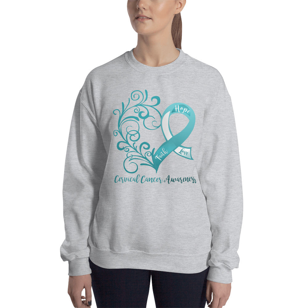 Cervical Cancer Awareness Sweatshirt