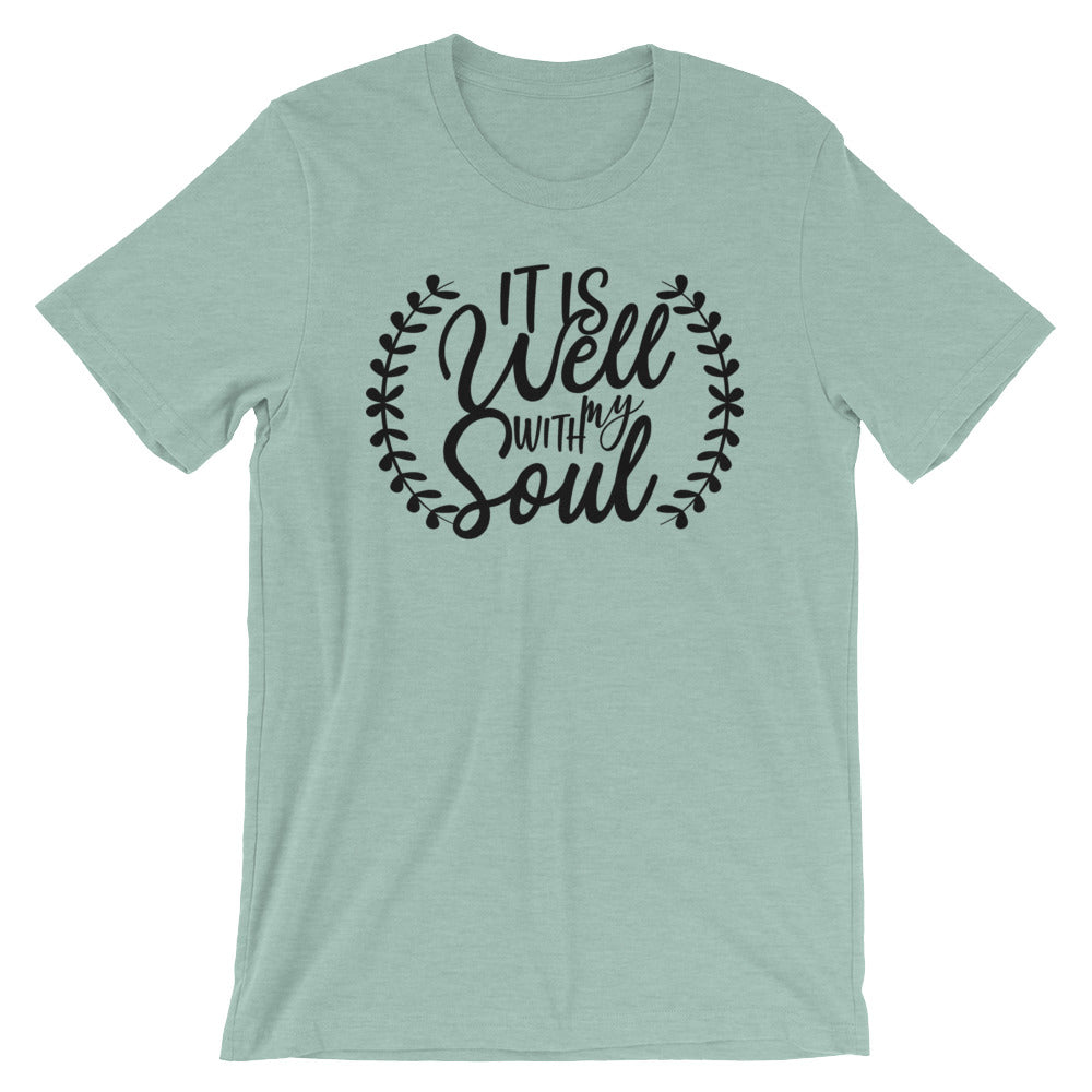 It Is Well With My Soul Cotton T-Shirt