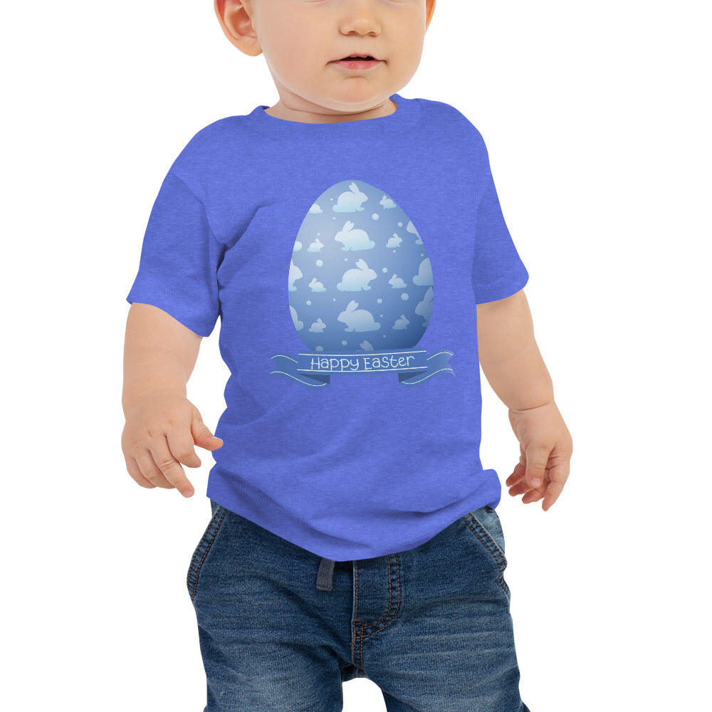 Happy Easter Bunny Egg Baby Tee