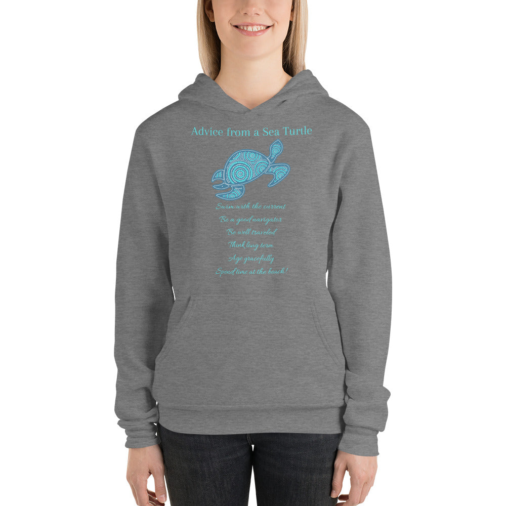 """Advice from a Sea Turtle"" Hoodie"