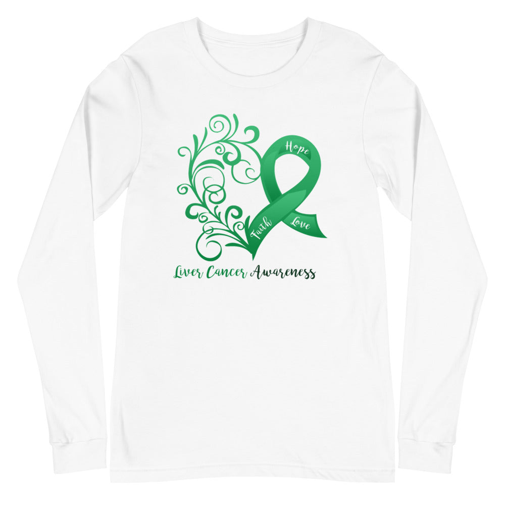 Liver Cancer Awareness Long Sleeve Tee