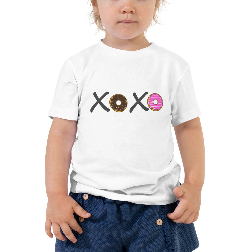 XOXO Donuts Toddler Tee