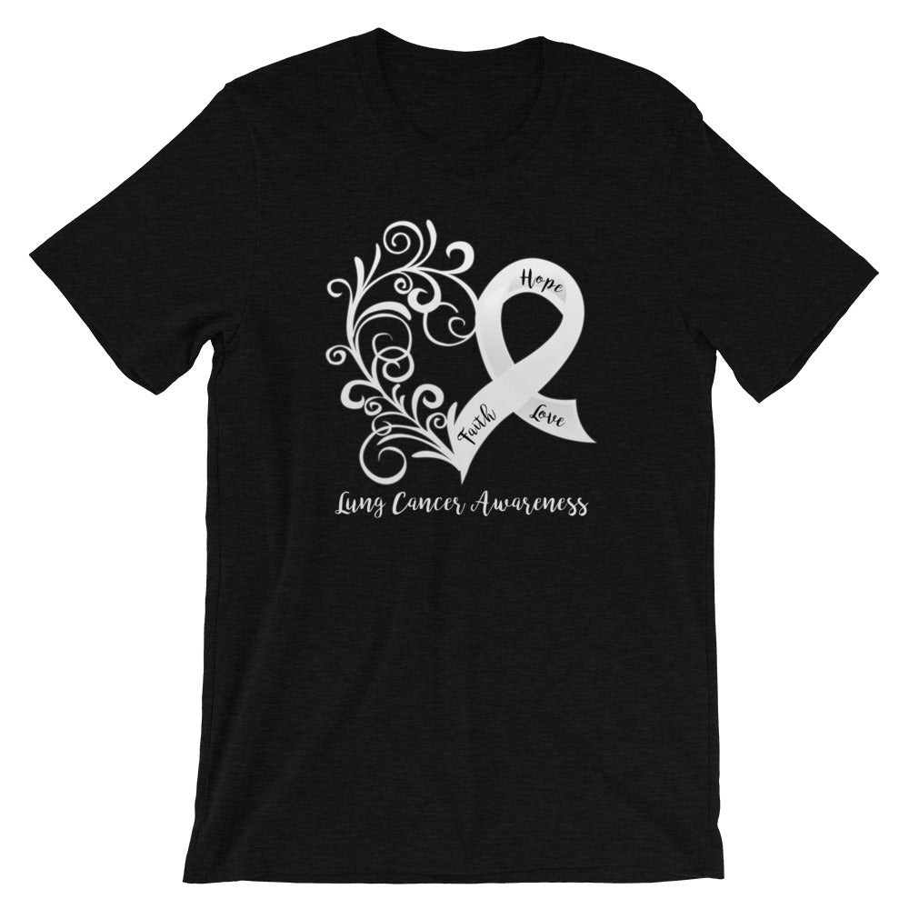 Lung Cancer Awareness T-Shirt - Dark Colors