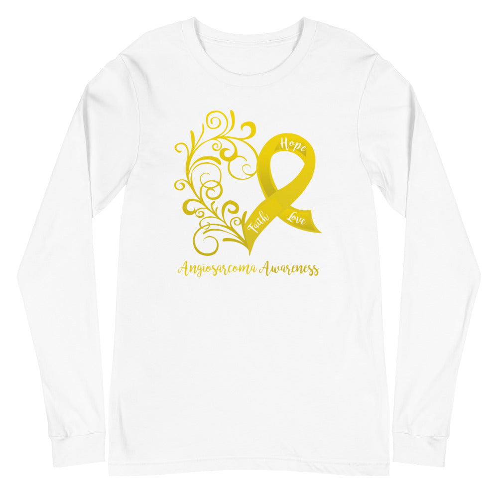 Angiosarcoma Awareness Long Sleeve Tee (Several Colors Available)