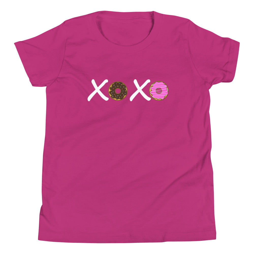 XOXO Donuts Youth Short Sleeve T-Shirt