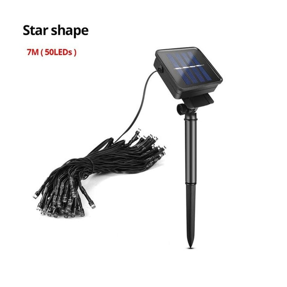Solar Power LED Lawn Lights
