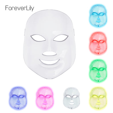 7 Colours LED Facial Mask - Your At Home Skin Photon Therapy