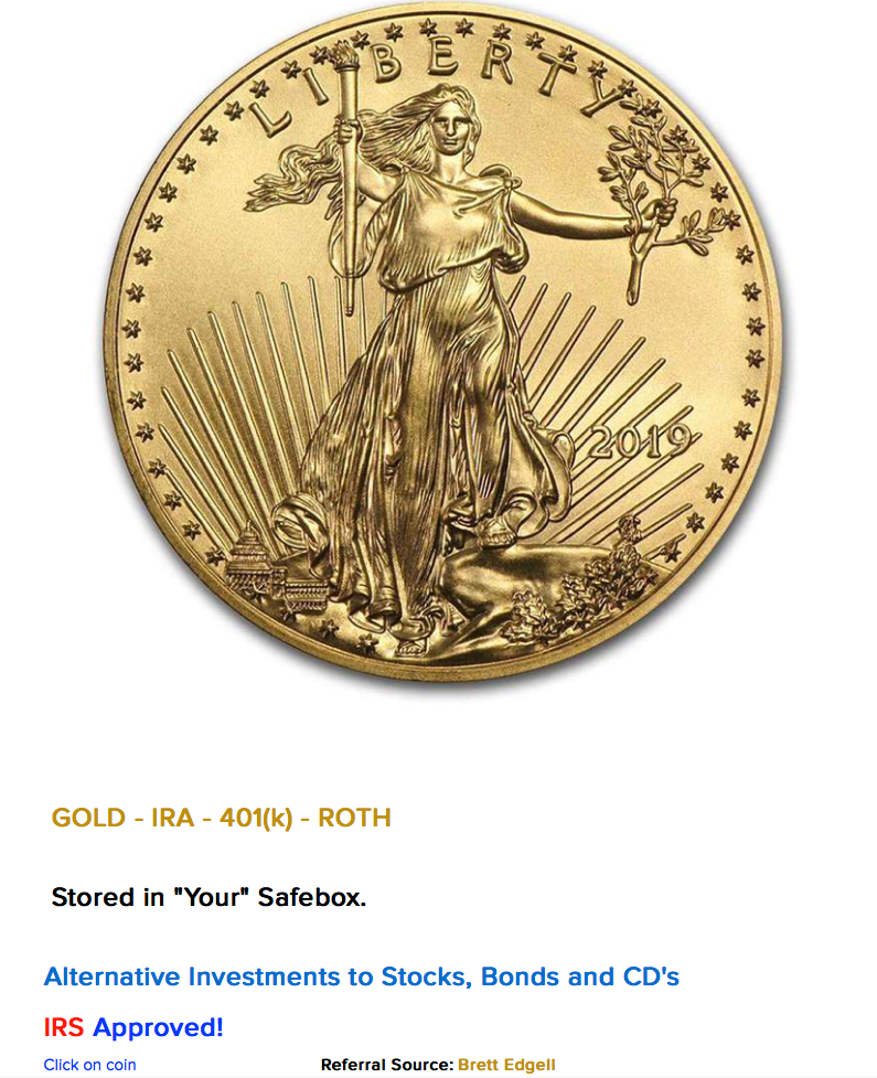 "IRS Approved - Stored in ""Your"" Safebox - Gold IRA"