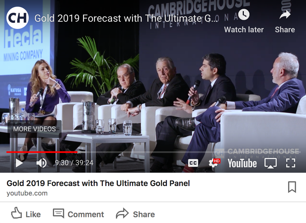 The Ultimate Gold Panel 2019