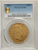Image of 1801 Draped Bust $10 Gold Eagle PCGS XF40