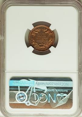1856 Flying Eagle Cent NGC PR64