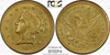 Image of 1861 Clark Gruber Quarter Eagle PCGS MS62