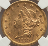 1869-S Liberty Double Eagle NGC MS62