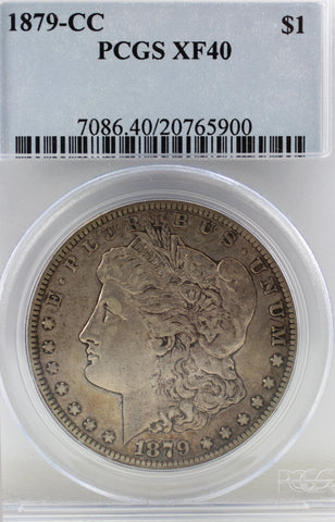 1879-CC PCGS XF-40 Morgan Silver Dollar (#11 of Top 20)
