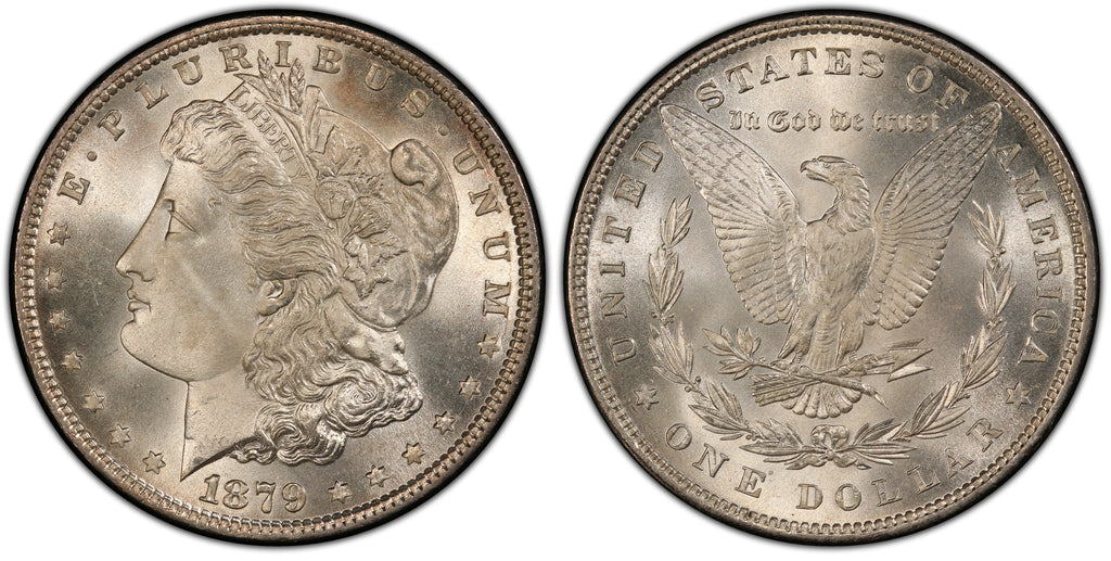 1879 Morgan Silver Dollar (3 of 50)  - (R4)  - As part of the (50) and (10) coin set, this coin is available. As a single coin purchase in this venue, refer below.