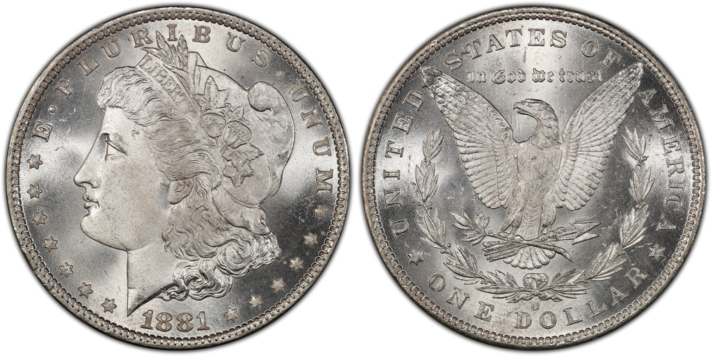 1881-O Morgan Silver Dollar (10 of 50)  - (R4)  - As part of the (50) and (10) coin set, this coin is available. As a single coin purchase in this venue, refer below.