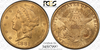 1882-CC Liberty Double Eagle PCGS MS61