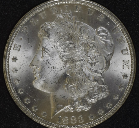 1883-CC NGC MS64 (GSA) Morgan Silver Dollar