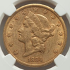 Image of 1884-CC Liberty Double Eagle NGC AU55