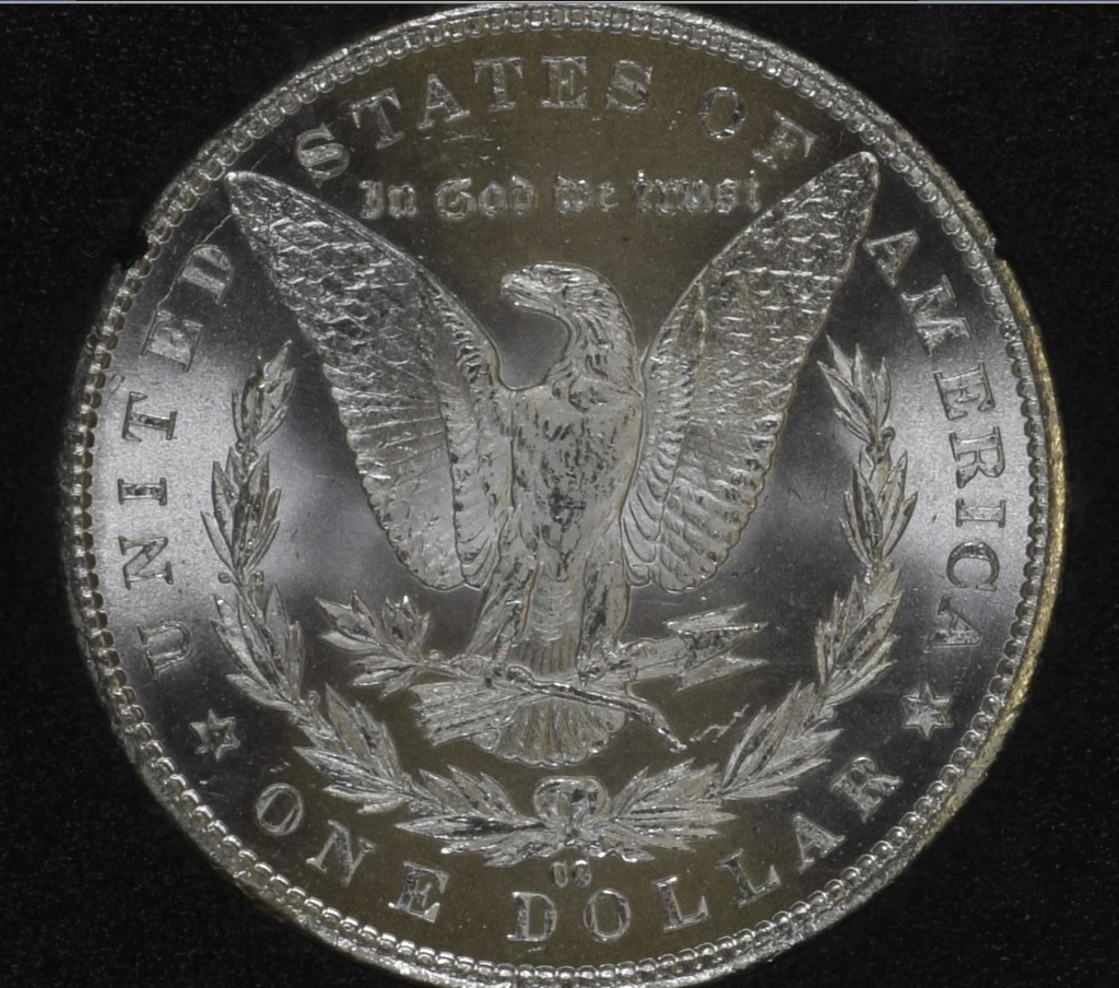 "1885 CC ""GSA HOARD"" - Morgan Silver Dollar -  MS65  ""Key Date"" (#6 of Top 10)"