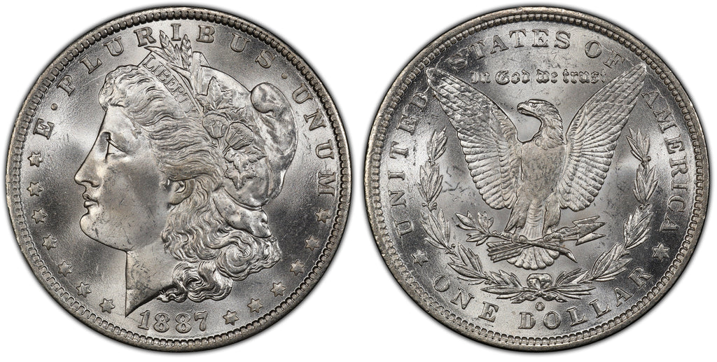 1887-O Morgan Silver Dollar (25 of 50)  - (R5)  - As part of the (50) and (10) coin set, this coin is available. As a single coin purchase in this venue, refer below.