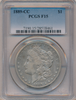 "1889-CC PCGS F15 ""Rarest of the Carson City Collection"" (#2 of Top 10)"