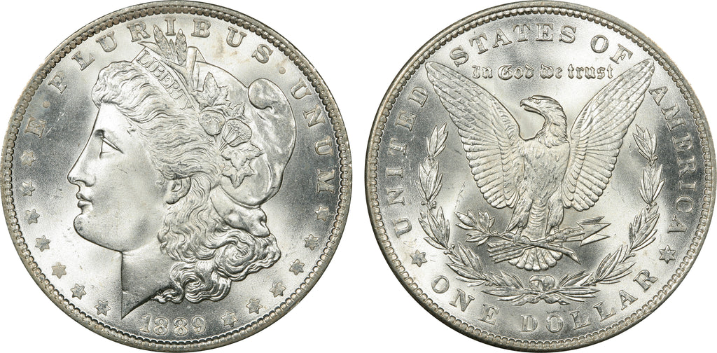 1889 Morgan Silver Dollar (28 of 50) - (R1) -  As part of the (50) and (10) coin set, this coin is available. As a single coin purchase in this venue, refer below.